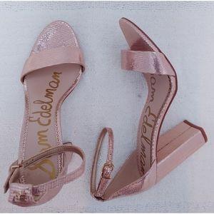 Sam Edelman Yaro Ankle Strap Sandal Size 8
